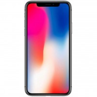 Мобильный телефон Apple iPhone X 64Gb Silver (MQAD2FS/A/MQAD2RM/A)